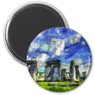 Imã Stonehenge Vincent van Gogh