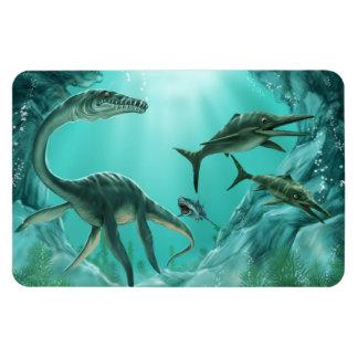 Ímã subaquático de Flexi do dinossauro