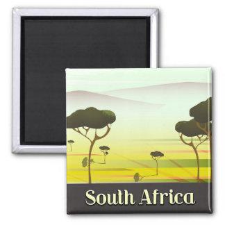 Imã Sul - poster de viagens africano da noite da