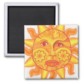 Imã Sun em seu ímã do spendor