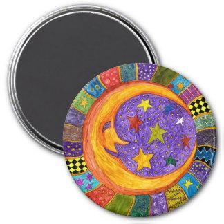 Imã Sun, lua e ímã das estrelas