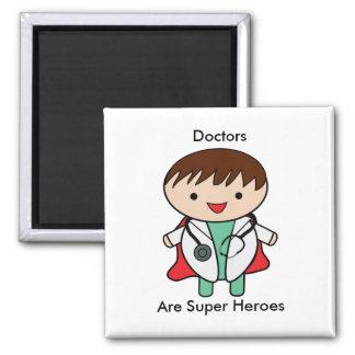 Imã Super-herói dos doutores Ser
