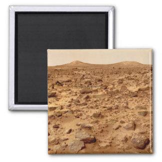 Imã Superfície rochosa do planeta Marte