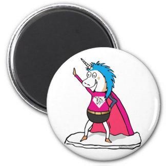 Imã Superhero Unicorn - unicórnio herói de excelente