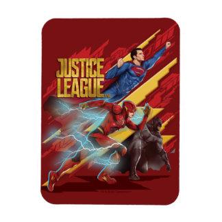 Ímã Superman da liga de justiça |, flash, & crachá de