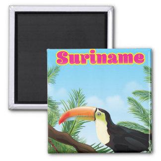 Imã Suriname sul - poster de viagens americano do