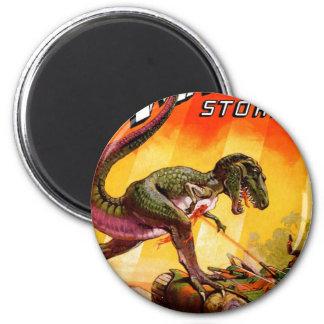 Imã T-Rex contra o tanque de Sherman