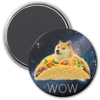 Imã Taco do Doge - doge cão-bonito do doge-shibe-doge