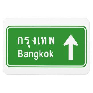 Ímã ⚠ tailandês do sinal de tráfego da estrada do ⚠ de