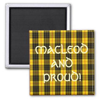 Imã Tartan escocês do clã de MacLeod