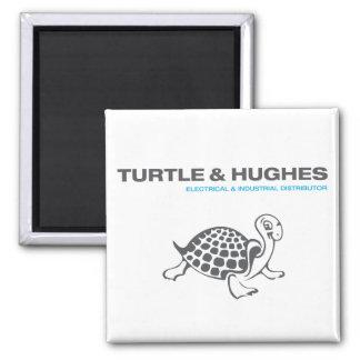 Imã Tartaruga & ímã quadrado de Hughes