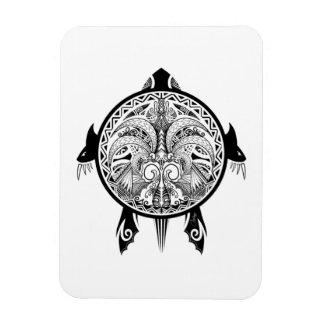 Ímã Tartaruga tribal do tatuagem