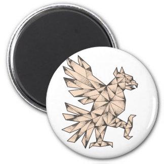 Imã Tatuagem de Cuauhtli Glifo Eagle