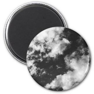 Imã Tempo nebuloso preto e branco