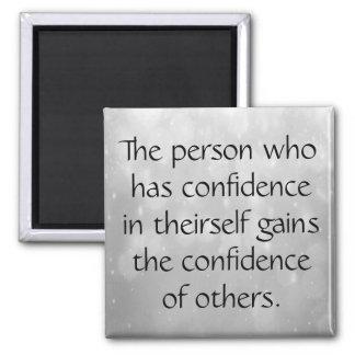 Imã Tenha a confiança em o senhor mesmo