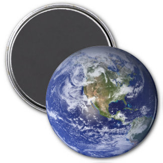 Imã Terra azul do planeta