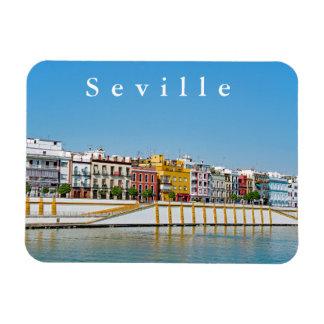 Ímã Terraplenagem do rio de Guadalquivir em Sevilha