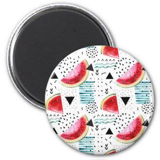 Imã Teste padrão abstrato da melancia