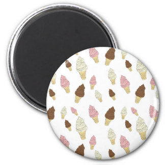 Imã Teste padrão do cone do sorvete