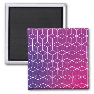 Imã Teste padrão do cubo do inclinação no ímã