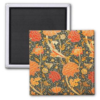 Imã Teste padrão do papel de parede de William Morris