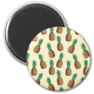 Imã Teste padrão do papel de parede do abacaxi