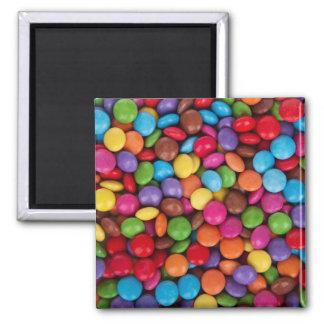 Imã Teste padrão dos doces de chocolate do arco-íris