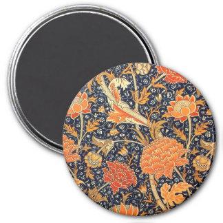 Imã Teste padrão floral de Nouveau da arte de William