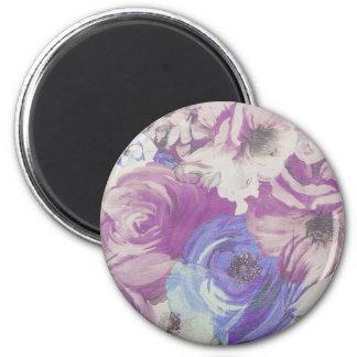 Imã Teste padrão floral do papel de parede do vintage