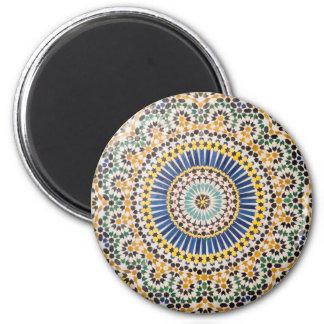 Imã Teste padrão geométrico do azulejo, Marrocos