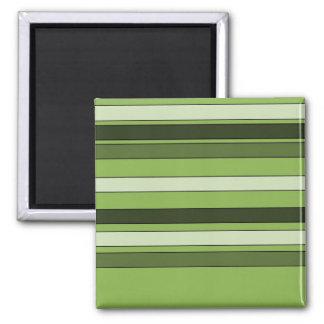 Imã Teste padrão horizontal verde das listras das