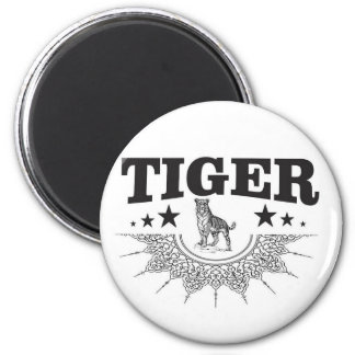 Imã tigre feliz