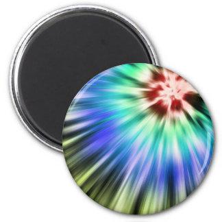 Imã Tintura colorida do laço de Starburst
