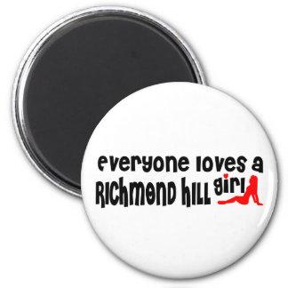Imã Todos ama uma menina de Richmond