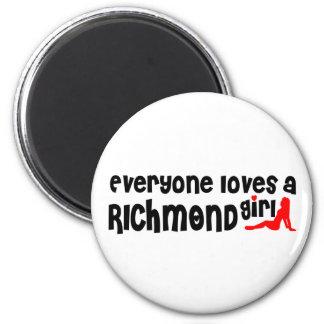 Imã Todos ama uma menina do monte de Richmond