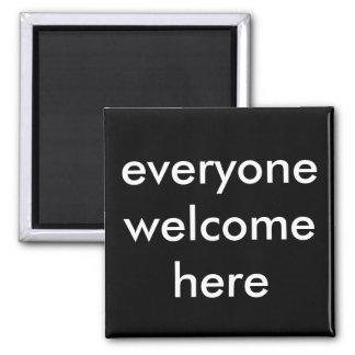 Imã todos bem-vindo aqui