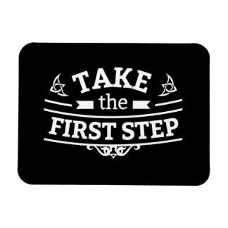 Ímã Tome a primeira etapa