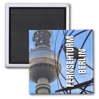 Imã TORRE da tevê de BERLIM, Fernsehturm berlinês