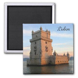 Imã Torre de Belém em Lisboa