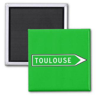Imã Toulouse, sinal de estrada, France