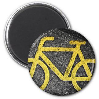 Imã tráfego de bicicleta