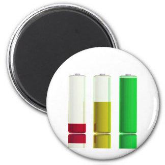 Imã Três baterias