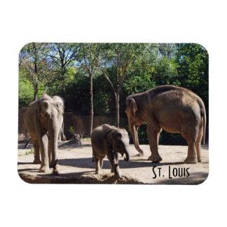 Ímã Três elefantes