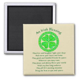 Imã Trevo irlandês do céltico da bênção