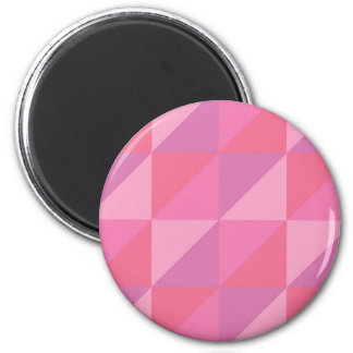 Imã Triângulos cor-de-rosa