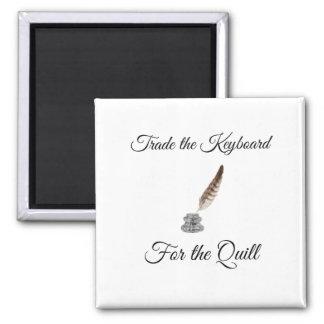 Imã Troque o teclado para o Quill