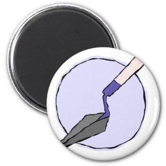 Imã Trowel roxo - o jogo de ferramentas do arqueólogo