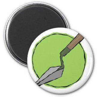 Imã Trowel verde - o conjunto de ferramentas do