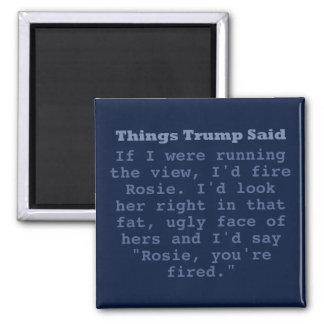 """Imã Trunfo Rosie - 2"""" ímã quadrado"""