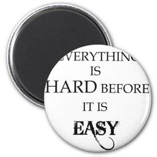 Imã tudo é duro antes que esteja goethe fácil
